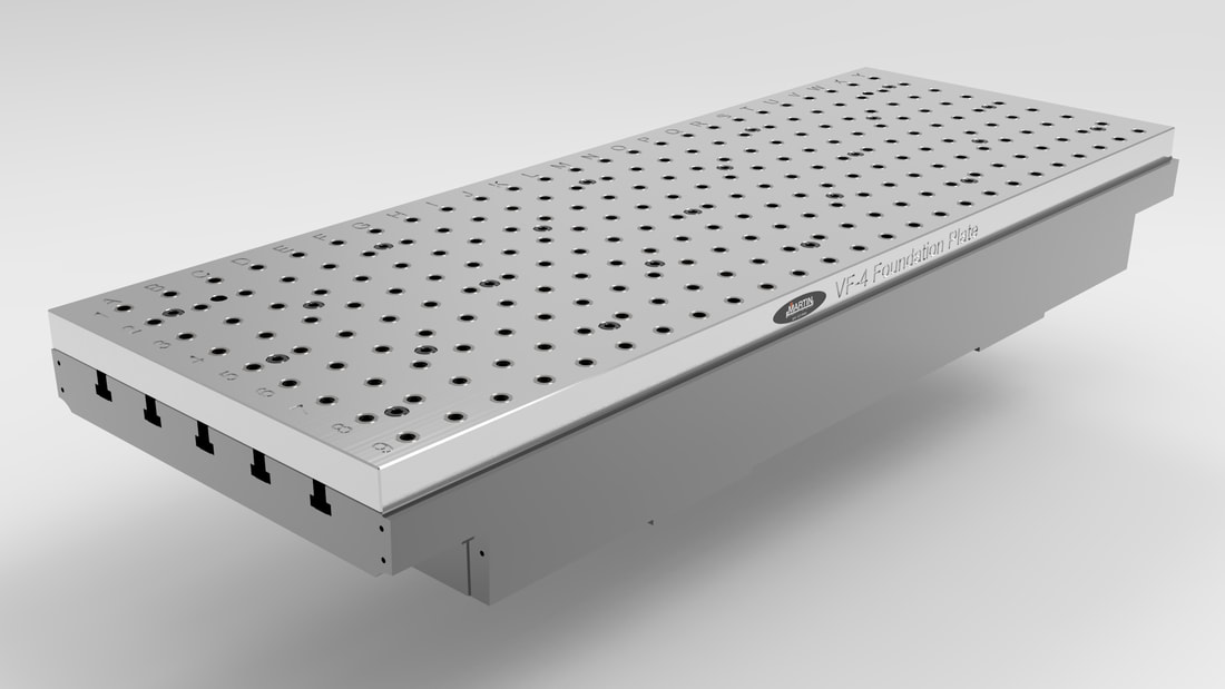 CNC Fixture Plate for CNC Machines